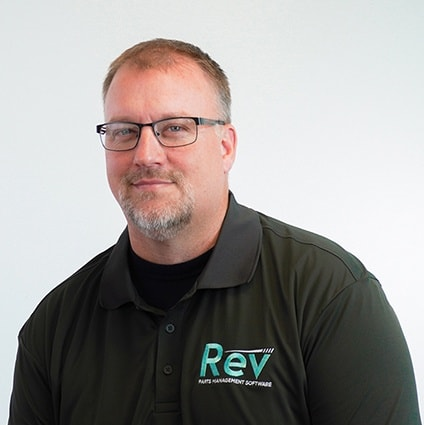 John Bunting is CEO of Rev Parts Management Software